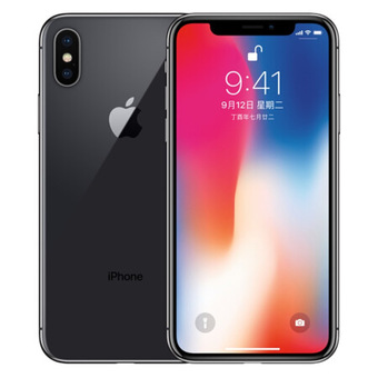 Apple/蘋果 iPhone X 256GB 深空灰
